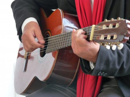 Le poète à la guitare