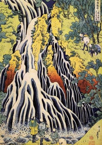 Cascade de Kirifuri de Hokusai.jpg