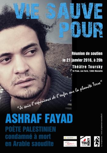 Affiche soutien Ashraf Fayad Marseille Scriptorium.jpg