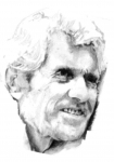 Autoportrait au crayon Jacky blog .JPG